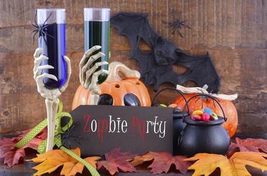Halloween Drinks & Candy