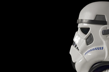 Star Wars stormtrooper.