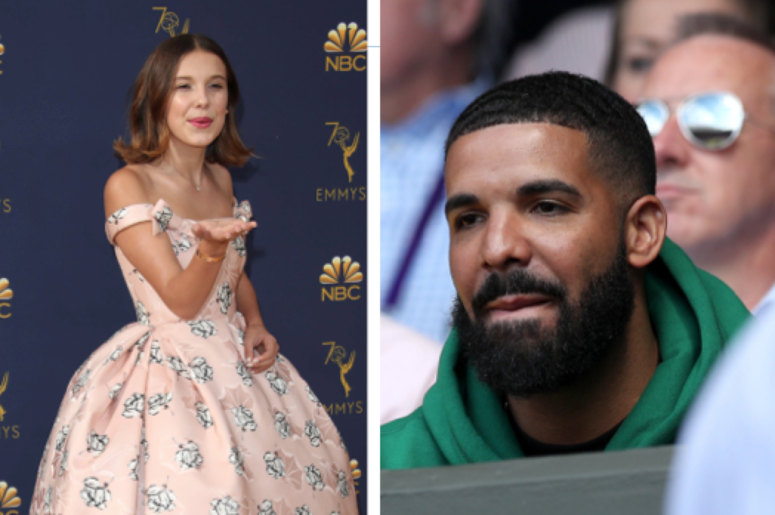 Millie Bobby Brown, Drake