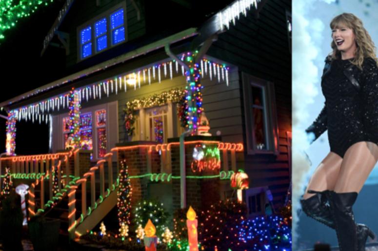 Taylor Swift Christmas Lights