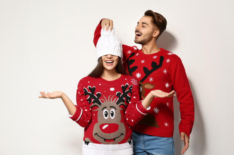 Ugly Sweater Couple