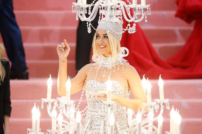 Katy Perry at the Met Gala