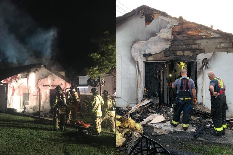 Woodbury fire after rejected booty call