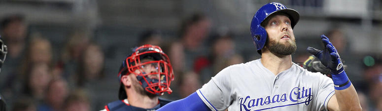 Royals gain 5-4 win over first-place Braves
