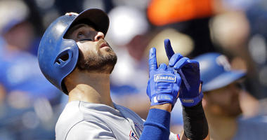 Rangers belt 5 home runs in 16-1 rout of Royals