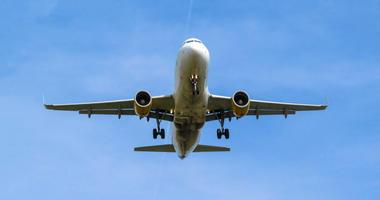 An airplane in flight