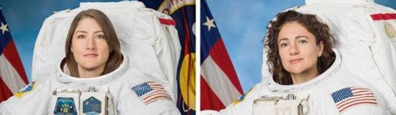 2 NASA Astronauts to Take Part in First All-Women Spacewalk