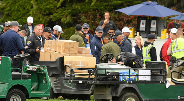 U.S. Open Golf Cart