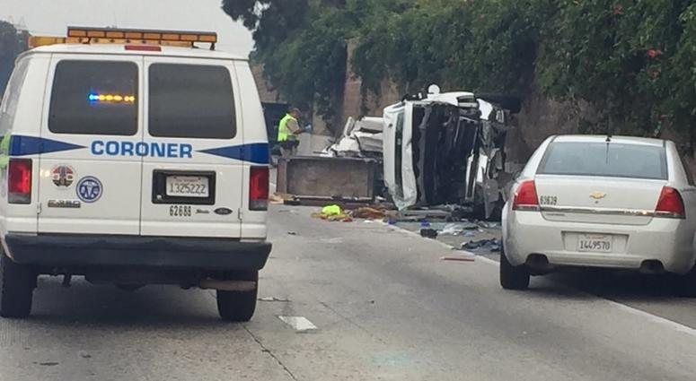 2 Killed and 2 Injured in Two-Vehicle Crash on 10 Freeway | KNX 1070