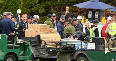 U.S. Open Golf Cart