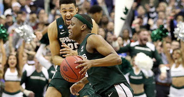 Cassius Winston dribbles out the clock as Michigan State beats Duke to advance to the 2019 Final Four.