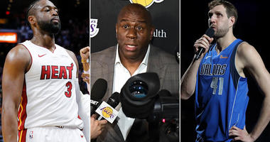 Dwyane Wade, Magic Johnson, Dirk Nowitzki had busy nights in the NBA on April 9, 2019.