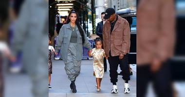 Kany West, Kim Kardashian, North West