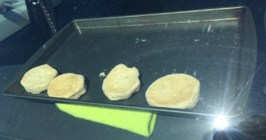 National Weather Service Bakes Biscuits in Parked Car Thanks to Heat Wave