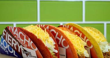 3 Doritos Locos tacos