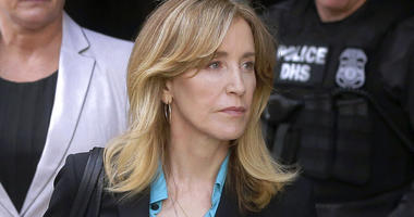 Actress Felicity Huffman Reports for Prison Sentence in Bay Area