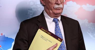 John Bolton Concerned Over Ukraine Dealings, Calls Rudy Giuliani a 'Hand Grenade'