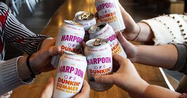 Dunkin' and Harpoon's coffee ale