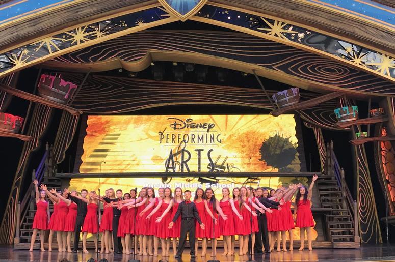 Pueblo Middle School Show Choir
