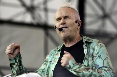 Dec 4, 2016; Fort Lauderdale Beach, FL, USA; Howard Jones performs at the Riptide Music Festival. Mandatory Credit: Ron Elkman/USA TODAY NETWORK