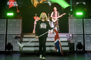 3/25/2018 - Joe Elliot of Def Leppard on stage during the Teenage Cancer Trust annual concert series, at the Royal Albert Hall, London. Picture date: Sunday 25th March 2018. Photo credit should read: David Jensen/EMPICS Entertainment (Photo by PA Images/S