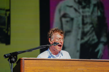 7/8/2018 - Steve Winwood performing live on the Great Oak stage at the 2018 British Summer Time Festival in Hyde Park in London. Photo date: Sunday, July 8, 2018. Photo credit should read: Richard Gray/EMPICS (Photo by PA Images/Sipa USA) *** US Rights On
