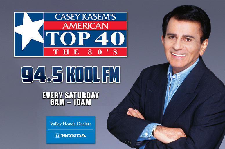 Casey Kasem's AT 40 from April 6, 1985! | 94 5 KOOL FM