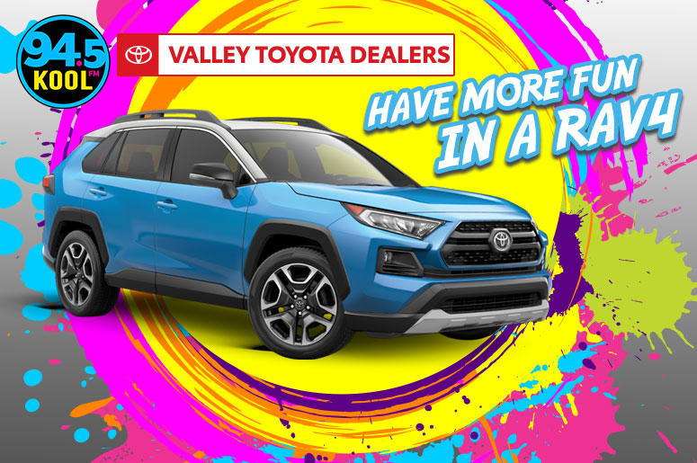 Toyota Of Surprise >> Have More Fun In A Rav4 Toyota Of Surprise 94 5 Kool Fm