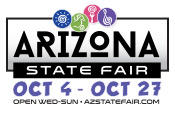 The 2019 Arizona State Fair opens Friday, October 4th and runs through Sunday, October 27th.  Pixel Yourself at the Arizona State Fair October fourth through the twenty-seven!