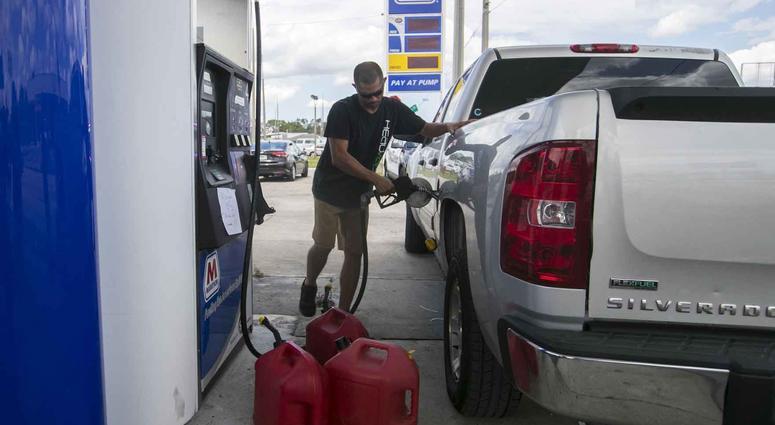 Gas Station: Hurricane Irma