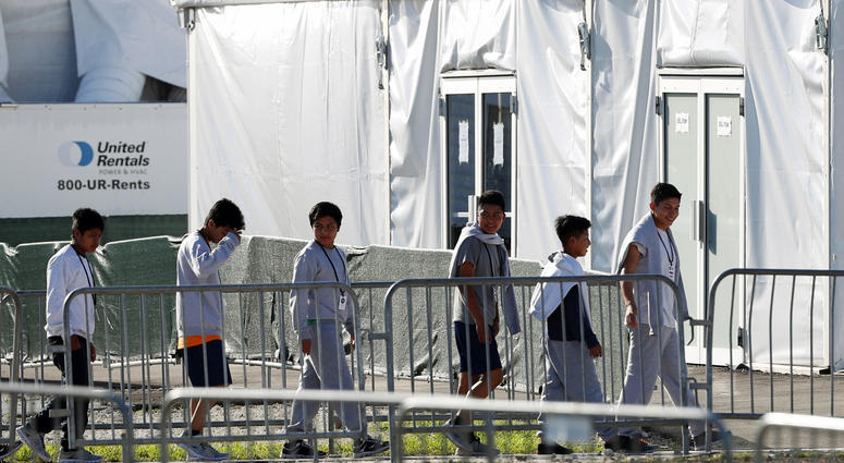 Sites in 3 states eyed for permanent child detention centers