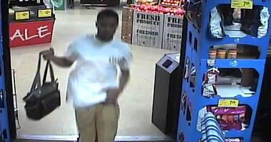 Kroger Purse Thief