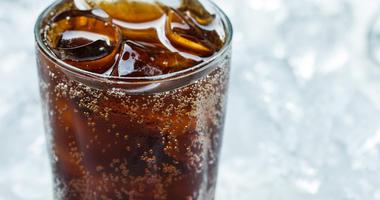 Glass of Coca Cola