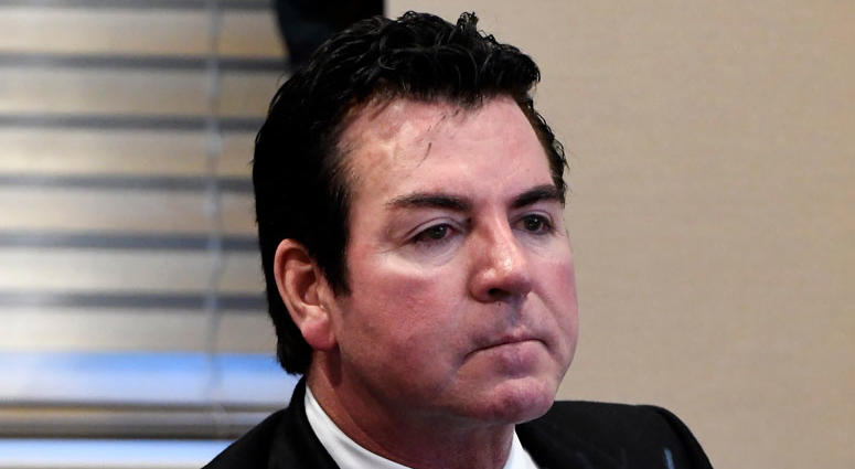 Papa John's founder and CEO John Schnatter