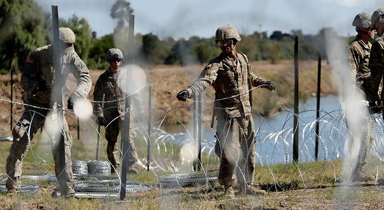 US Troops At Border