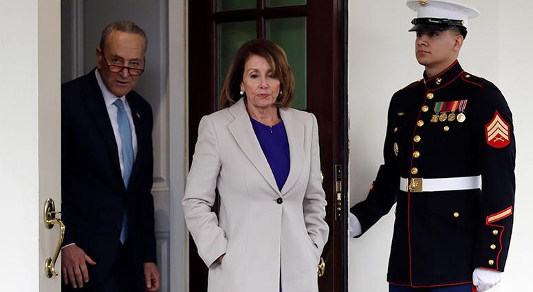 Senate Minority Leader Chuck Schumer, and Speaker of the House Nancy Pelosi