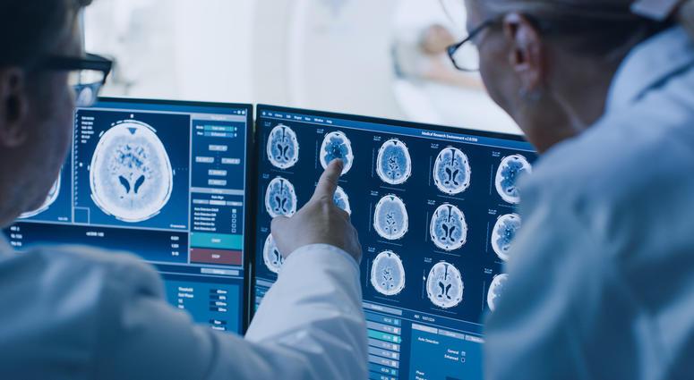 Hospital, Brain Scan