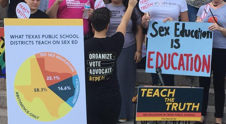 Texas Teaching Abstinence-Only Sex Education