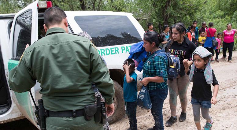 Immigrant Families at Texas Border