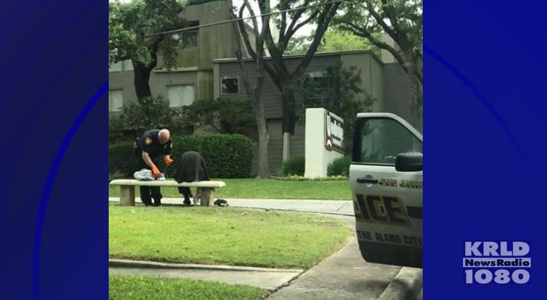 San Antonio Police Officer Helps Homeless Man