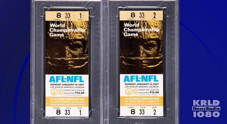 Super Bowl 1 Tickets