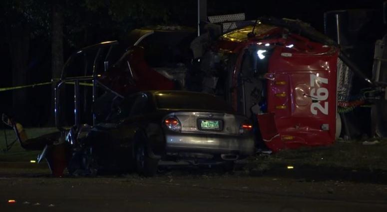 Richardson Crash, Fuel Spill