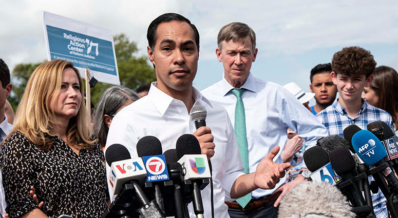 Democratic presidential candidate, Secretary Julian Castro