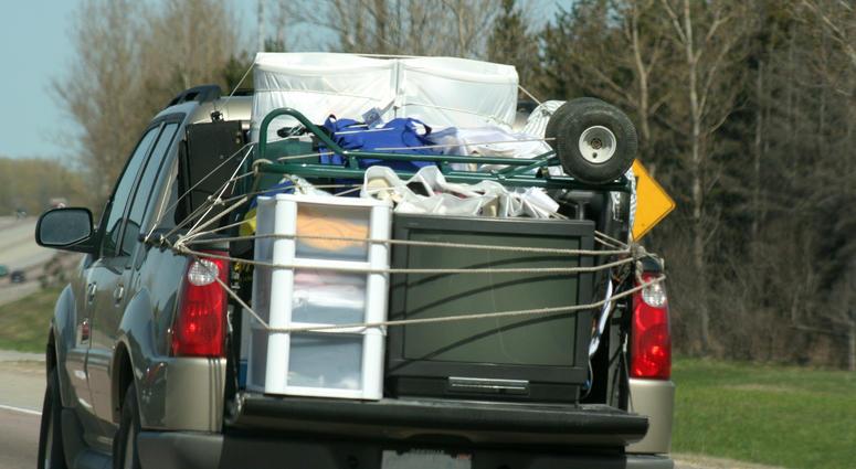 Pickup Truck Load