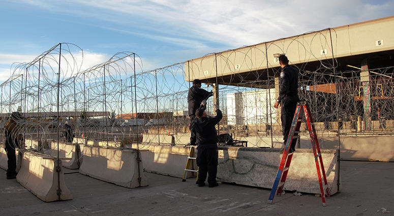 El Paso Barrier