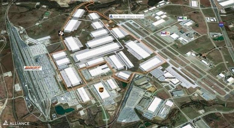 Hillwood Buys 600 Acres Connecting Alliance Airport, BNSF Facility