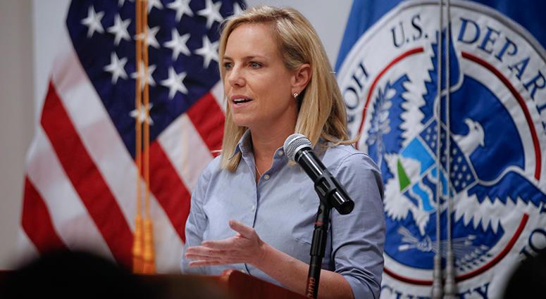 Department of Homeland Security Secretary Kirstjen M. Nielsen