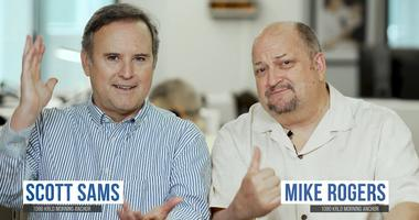 Scott Sams and Mike Rogers