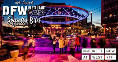 DFW Restaurant Week Specialty Bites 2019