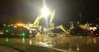 Arlington Water Main Break